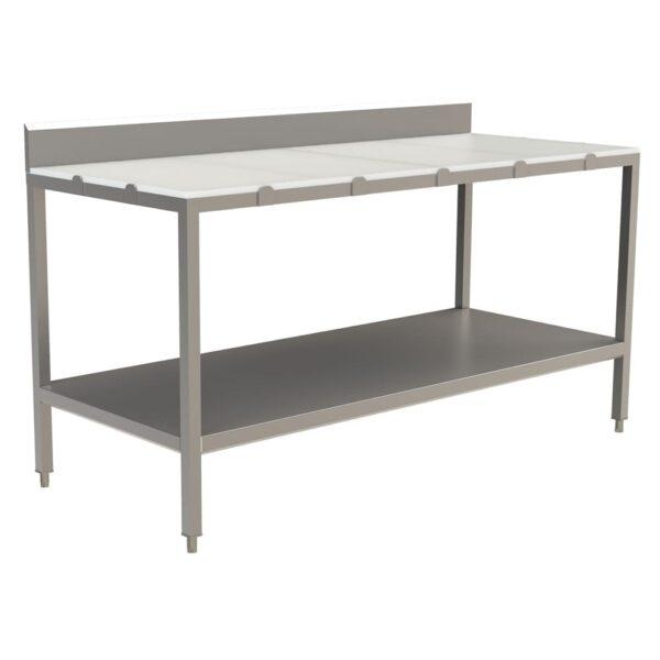 Choice Equipment TB535-30120 Poly Top Work Table, 30″D x 12…