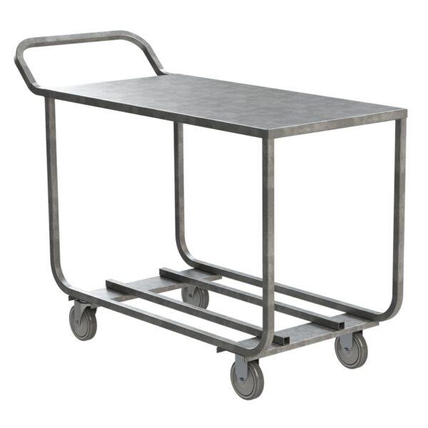 Choice Equipment UC50-2454 Produce Stocking Cart, open ba…
