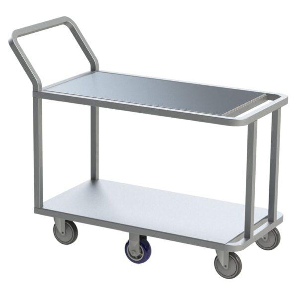 Choice Equipment UC65-4129-B Wet Produce Stocking Cart, (2)…