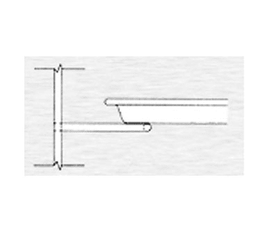Continental Refrigerator 55-1508A