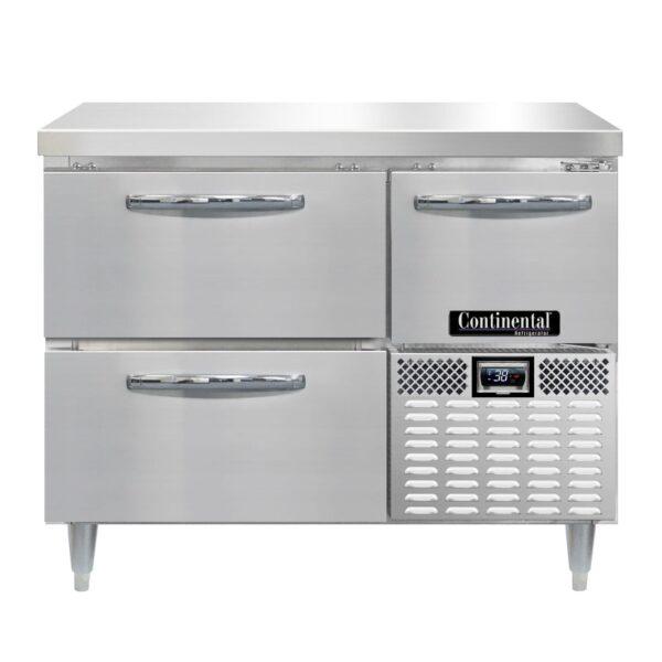 Continental Refrigerator DRA43NSS-F