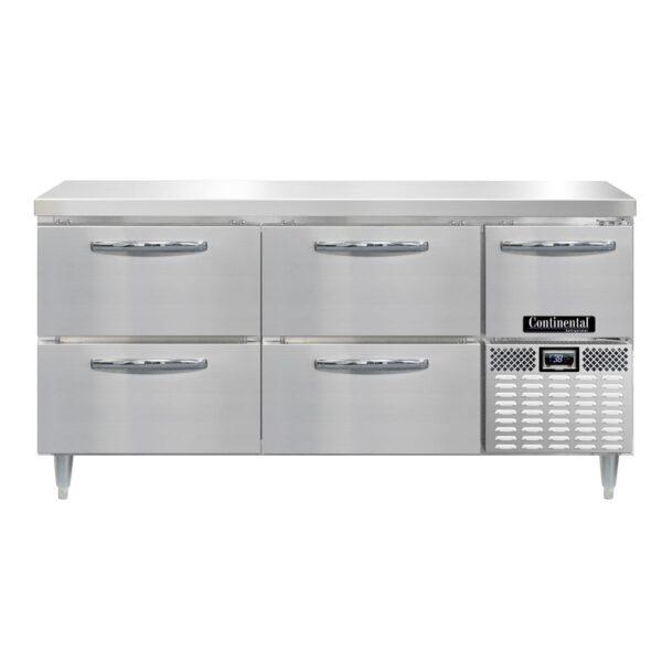 Continental Refrigerator DRA68NSS-F