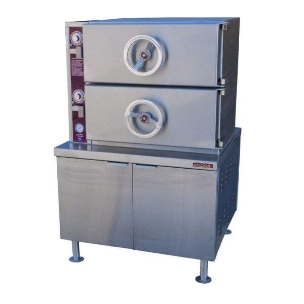 Steamer, Dual-Pressure, Steam-Coil