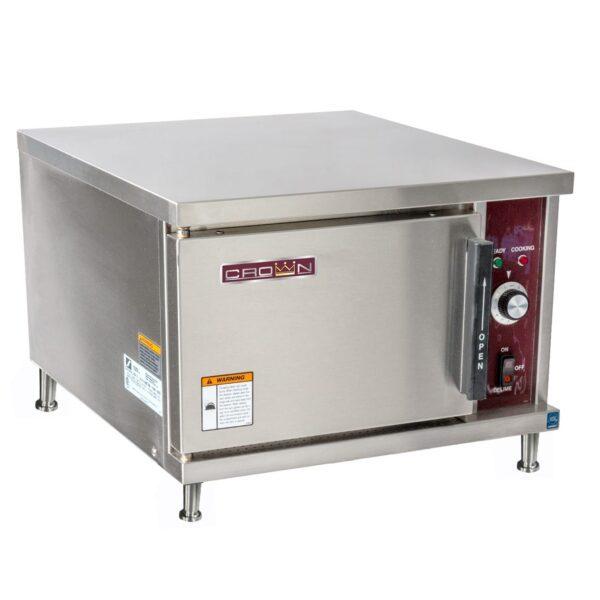 Crown SX-3, 3 Pan Elec. Counter Steamer, 7.5 KW