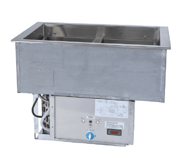 Hot / Cold Food Well Unit, Drop-In, Electric