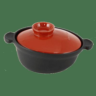 Eurodib USA 500020020 Casserole, with lid, black dis…
