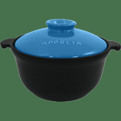 Eurodib USA 500031071 Casserole, with lid, round, bl…