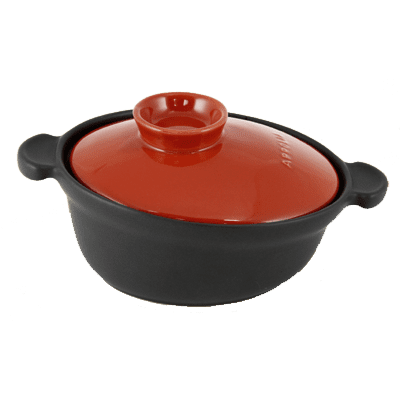 Eurodib USA 500040020 Casserole, with lid, black dis…