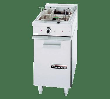 Garland/US Range 36ES11 30 lb. Range Match Electric Floor Fryer