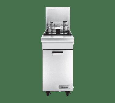 Garland/US Range M35SS Master Series Liquid Propane / Natural Gas 35 lb. Range Match Floor Fryer
