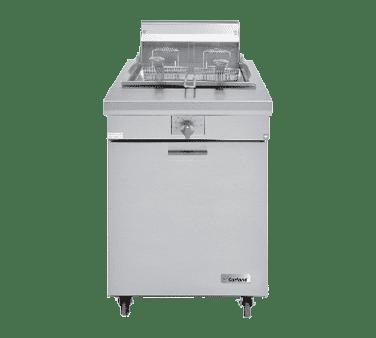 Garland/US Range M70SS Master Series Natural Gas / Liquid Propane 70 lb. Range Match Floor Fryer