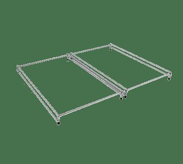 Hatco 2 RAIL Chrome pan rail for (2) pan (p…