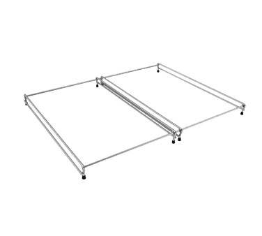 Hatco 4 RAIL Chrome pan rail for (4) pan (i…