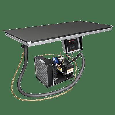 Hatco CSBF-36-I Cold Shelf, built-in flush top…
