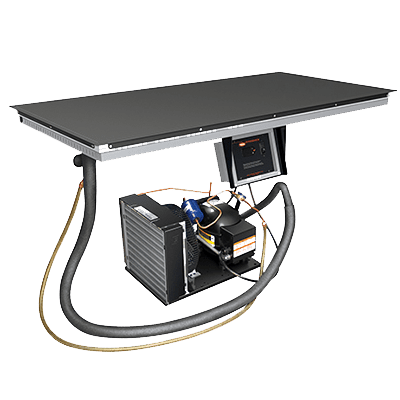 Hatco CSBF-36-S Cold Shelf, built-in flush top…
