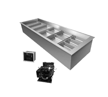 Hatco CWBR-6 Drop-In Refrigerated Well, (6)…