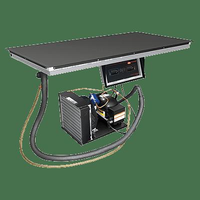 Hatco HCSBF-36-I Hot/Cold Shelf, built-in flush…