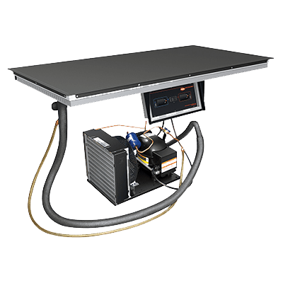 Hatco HCSBF-36-S Hot/Cold Shelf, built-in flush…