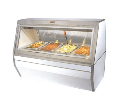 Howard-McCray CHS35-6 Hot Food Case, 71″W, (4) indiv…