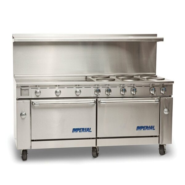 "Range, 72"" Restaurant, Electric"