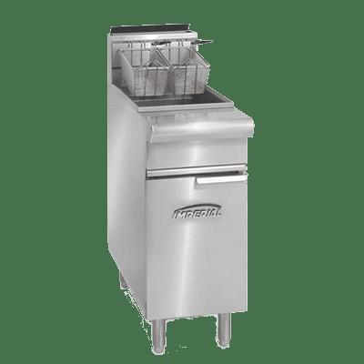 Imperial IRF-25S Full Pot Floor Model Gas Fryer