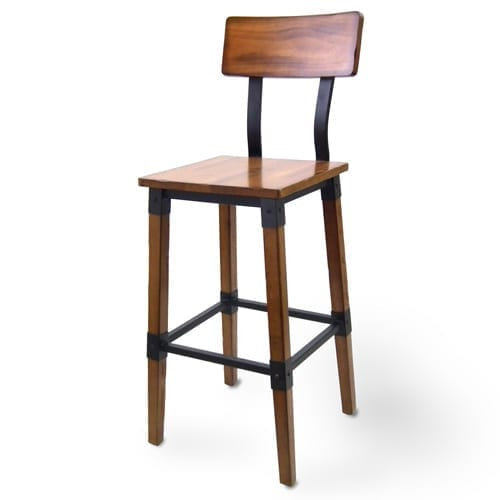 JustChair Manufacturing CSR-91230-PS-COM CITYStyle™ Rustic Barstool, wo…