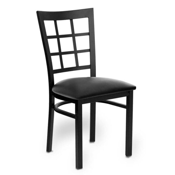 JustChair Manufacturing M27118-BLK-PS BVS LOOSE