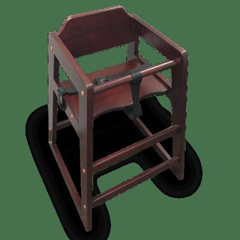 High Chair, Wood