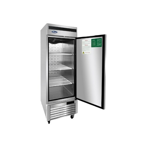 Atosa USA, Inc. MBF8501GR, Bottom Mount 1 Single Door Reach-In Freezer Cooler Right Hinged