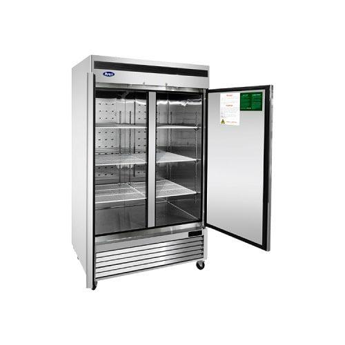 Atosa USA, Inc. MBF8503GR, Bottom Mount 2 Door Freezer Cooler