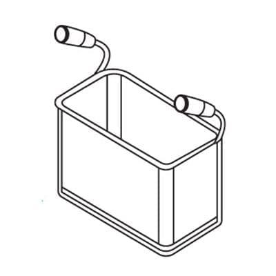 MVP Group LLC 116-0040 Axis Pasta Basket, 1/3 size, f…