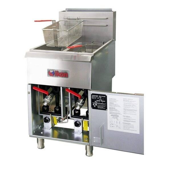 MVP Group LLC IGF-40/40-LP IKON Split Pot Fryer, LP gas