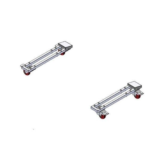MVP Group LLC KGL-RM CASTER KIT Locking caster kit with frame,…
