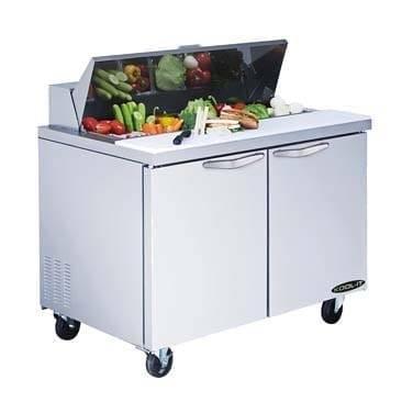 MVP Group LLC KST-36-2 Kool-It Sandwich/Salad Prep Un…
