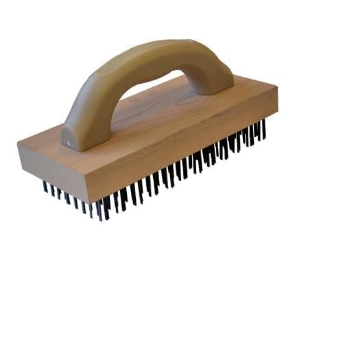 Omcan USA 10450 (10450) Wooden Block Brush