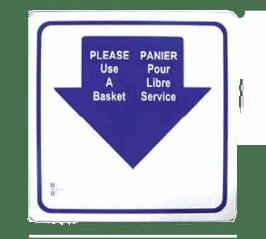 Omcan USA 13042 (13042) Shopping Hand Basket S…