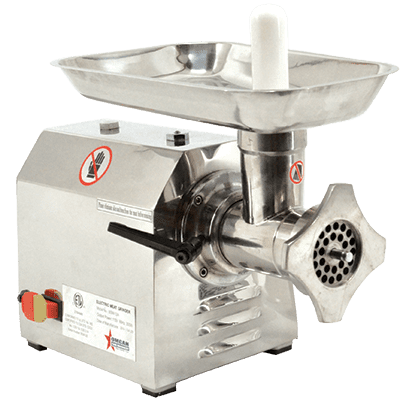 Omcan USA 23580 (MG-CN-0012-S) Electric Meat Grinder