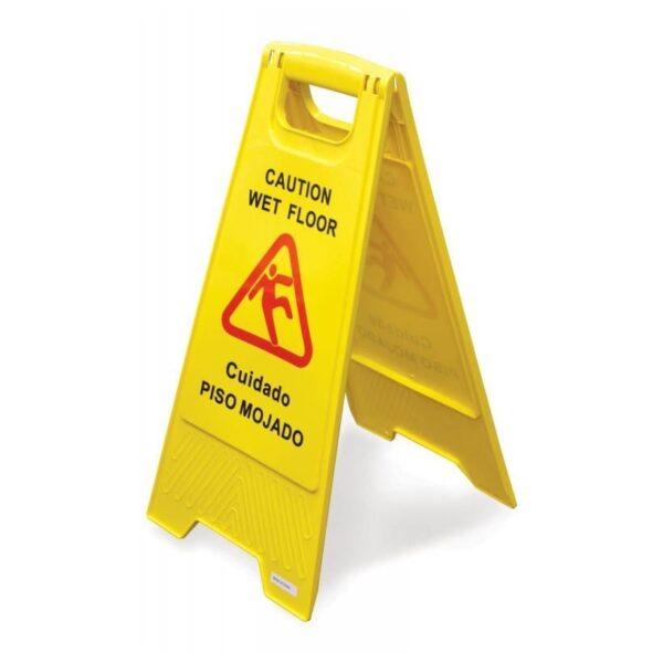 Sign, Wet Floor