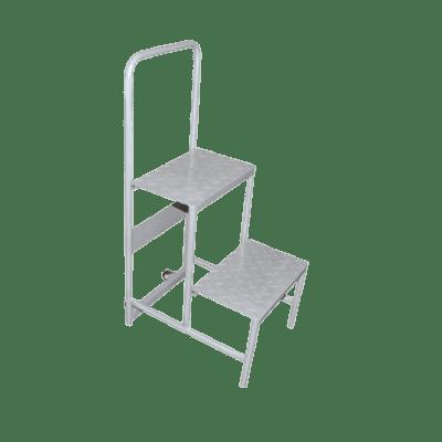 Omcan USA 31368 (31368) Step Ladder, (2) steps…