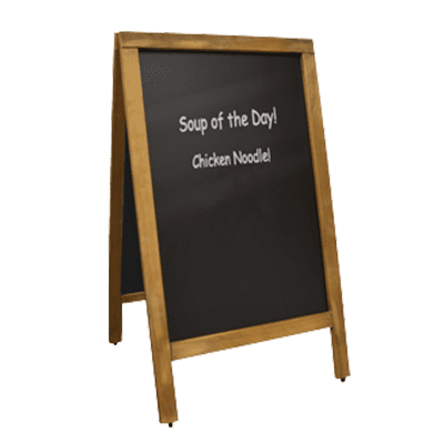 Omcan USA 31396 (31396) Menu Chalk Board