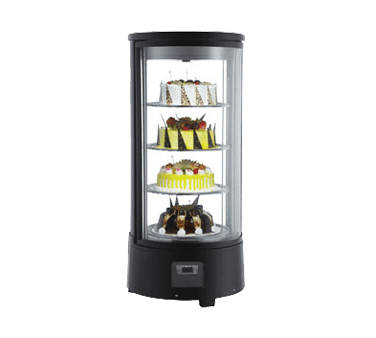 Omcan USA 39552 (RS-CN-0072-R) Rotating Refrigerated Display Case