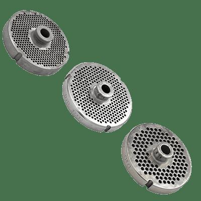 Omcan USA 40307 (40307) SS #22 machine plate