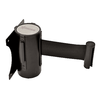 Crowd Control Stanchion, Wall Mount