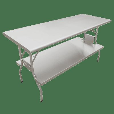 Omcan USA 41237 (41237) Folding Table, 72″ W x…