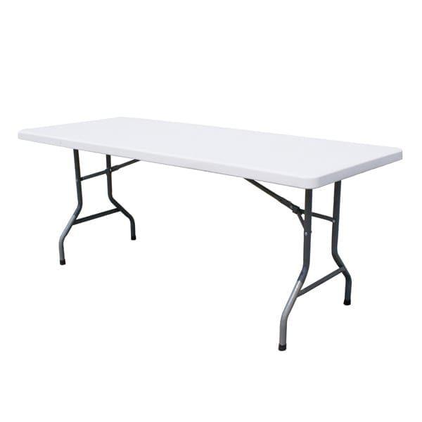 Omcan USA 41597 (41597) Folding Table, 94.5″W …