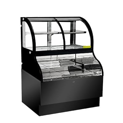 Display Case, Refrigerated, Dual Serve