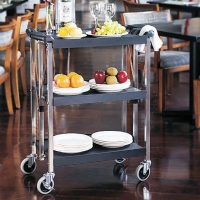 Omcan USA 43638 (43638) Dining Cart, folding, …