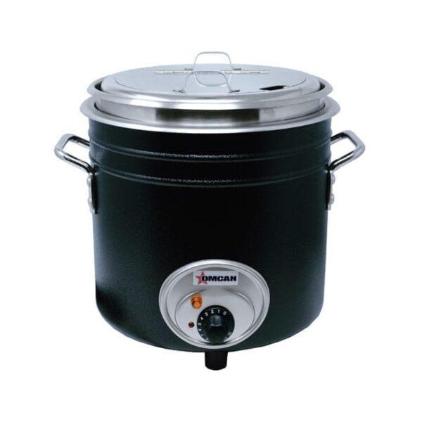 Omcan USA 44392 (FW-TW-5000-B) Retro Stock Pot Kettle