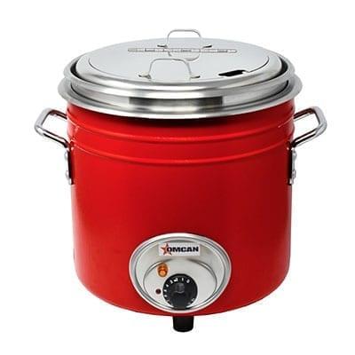 Omcan USA 44426 (FW-TW-5000-R) Retro Stock Pot Kettle