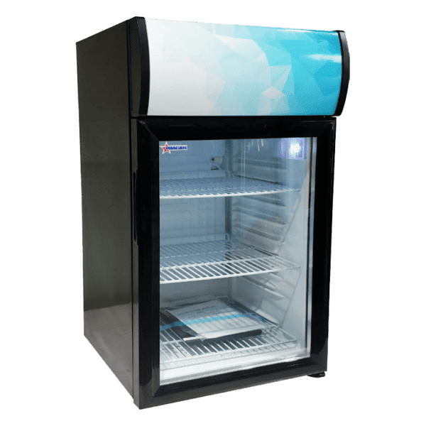 Omcan USA 44529 (RS-CN-0052-B) Reach-In Refrigerated Display